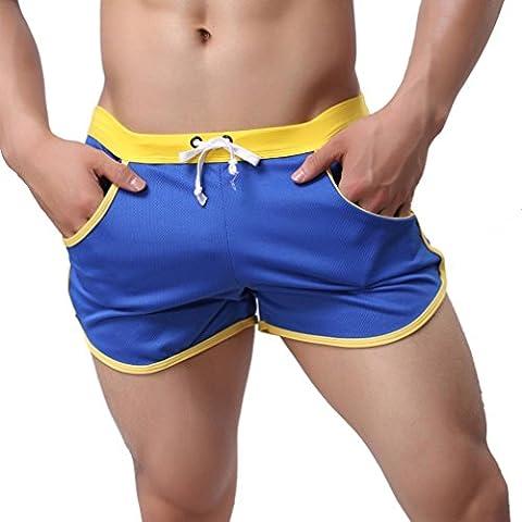 Ouneed® Uomo Shorts Pantaloni Pantaloni Sport Casual Pants,in Polyester,Grigio /