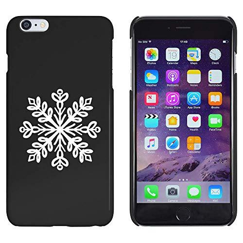 Azeeda Schwarz 'Dekorative Schneeflocke' Hülle für iPhone 6 Plus & 6s Plus (MC00184336)