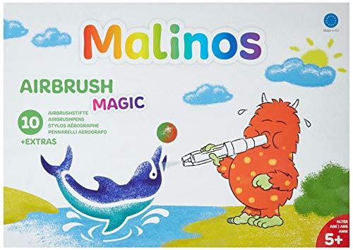 MALINOS 300964 Airbrush-Magie Stifte, 10+ extra