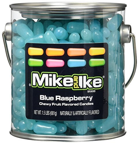 mike-and-ike-party-pail-black-label-candy-blue-raspberry-15-pound-by-mike-ike