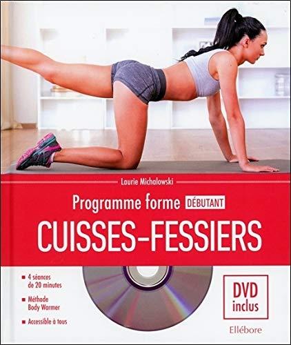 Programme forme débutant cuisses-fessiers - Livre + DVD