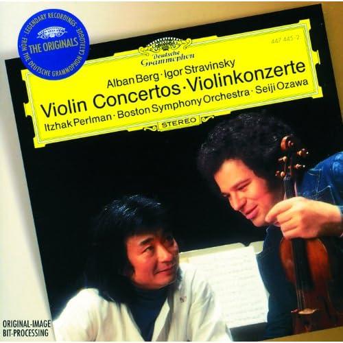 Stravinsky: Violin Concerto In D - 2. Aria I