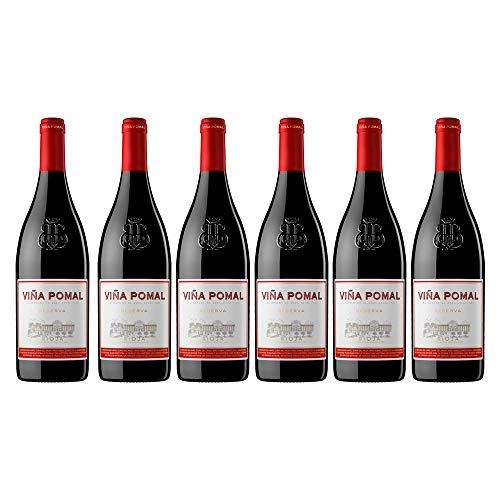 Viña Pomal | Vino Tinto Reserva Viña Pomal | Bilbaínas | D.O.Ca. Rioja | Caja De 6 Botellas De 75 Cl
