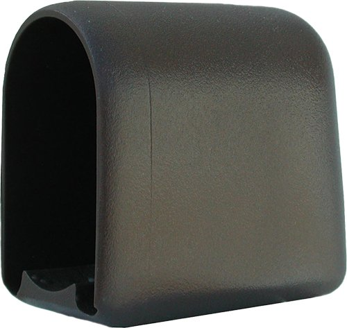 Original DEKAFORM Kunststoffgleiter Gleiter vorn für Casala-Flötotto-Schultisch, Möbelgleiter Kunststoff Gleitkappe Tischgleiter bei Flach-Oval-Rohr 109-50x30- braun
