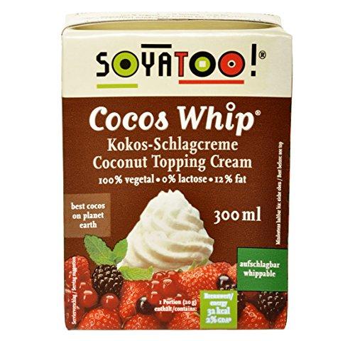 Soyatoo Kokos Schlagcreme 300ml (Kokos-sahne)