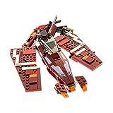 Bausteine gebraucht 1 x Lego System Set Modell 9497 Star Wars Old Republic Striker-Class Starfighter Raumschiff dunkel rot Incomplete unvollständig
