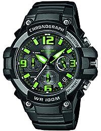 Reloj cuarzo Casio Para Unisex Con  Negro Analogico Y Negro Resina MCW-100H-3AVEF
