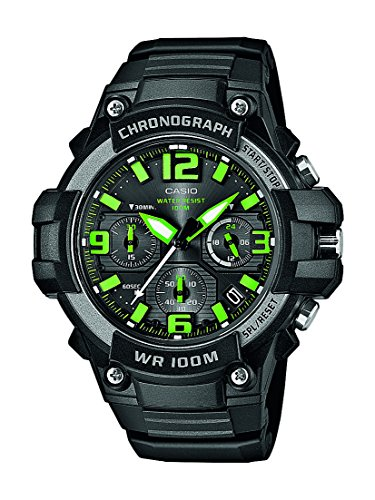 Casio Collection Herren-Armbanduhr XL Casio Collection Collection Analog Quarz Resin MCW-100H-3AVEF
