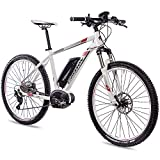 CHRISSON 27,5 E-Bike E-Mounter 2.0 10S DEORE 640 Bosch PLINE Powerpack400 Weiss matt 44 cm