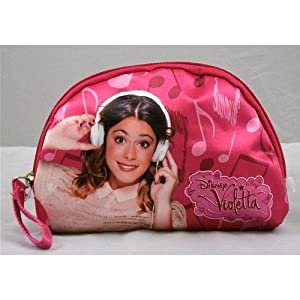 Beauty Violetta Disney Almacenamiento Neceser Fucsia cm. 17x 12x 3d88965/2