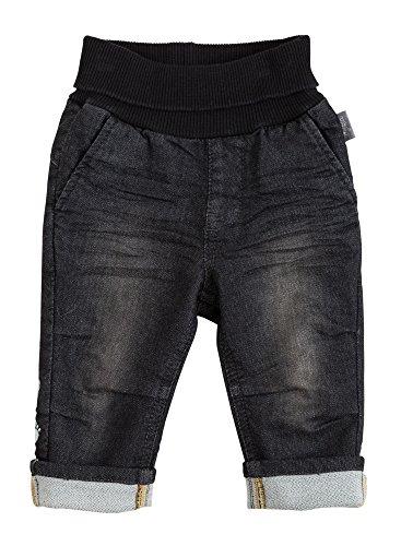 Sigikid Jungen Jeans, Baby, Blau (Black Denim 11), 80