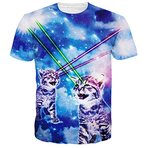 leapparel-unisex-galaxy-laser-cat-printed-graphic-novelty-t-shirts-tees-clothes-m