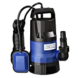 ReaseJoy 400W Submersible Dirty Clean Water Pump with Float Switch 1/2HP Swimming Pool