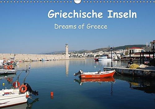 Preisvergleich Produktbild Griechische Inseln (Wandkalender 2017 DIN A3 quer): Dreams of Greece (Monatskalender, 14 Seiten ) (CALVENDO Orte)