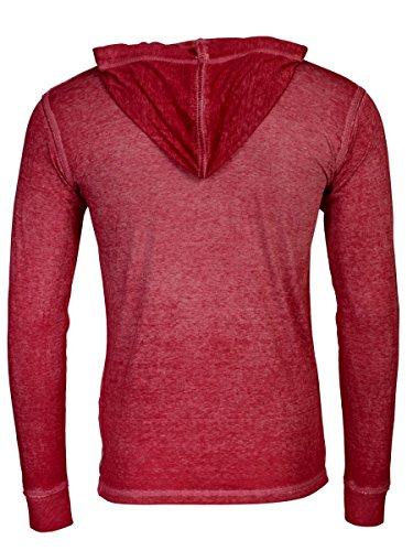 TREVOR'S INGO Herren Hoodie aus Polyester und Baumwolle - soziale fair trade Kleidung, Mode vegan und nachhaltig Color kir-royale, Size M - 2