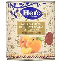 Hero - Melocotón En Almíbar - 845 g - [Pack de 6]