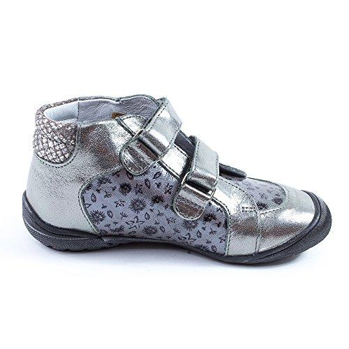 GBB Boots fille argent LATOYA 20611 Argent