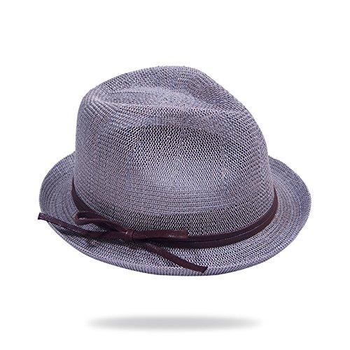 Chapeau de paille ajourée/Bref rouler Hat/Sir petits chapeaux/Chapeaux de soleil SPF F