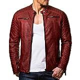 a22249ff2177 Redbridge Giacca da uomo, stile ... - Abbigliamento - 65,98€. 14 Ottobre  Redbridge. Redbridge Giacca da uomo, stile biker, in pelle vera e cotone con  ...
