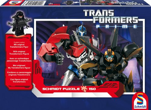 Schmidt Spiele 56053 - Hasbro, Transformers, die Helden, 150 Teile (Transformer Teil)