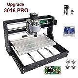 Version de mise à niveau (facile à installer) CNC 3018 Pro GRBL Control DIY, mini-machine CNC, fraiseuse pour circuits imprimés 3 axes, graveuse de routeur à bois avec contrôleur hors ligne