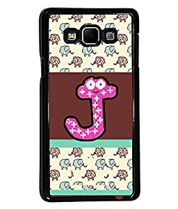 PrintVisa Metal Printed Alphabet Designer Back Case Cover for Samsung Galaxy A7-D5051
