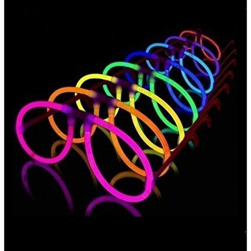 50 Gafas Glow Luminosas Aviador