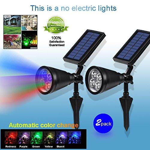 HDR touch® ultimo colore disegno culminante LED solare lampada prato