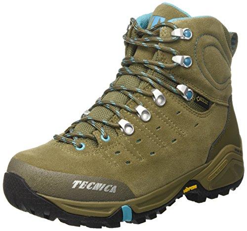 Sconosciuto Tecnica Aconcagua II Gtxョ WS, Scarpe da Camminata Donna, (Beige/Turchese), 38 EU