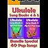 Ukulele Song Book 4 & 5 - 40 Popular Songs With Lyrics and Ukulele Chord Tabs - Bundle of 2 Ukulele Song Books: Ukulele Chord Tabs (Ukulele Songs 1) (English Edition)