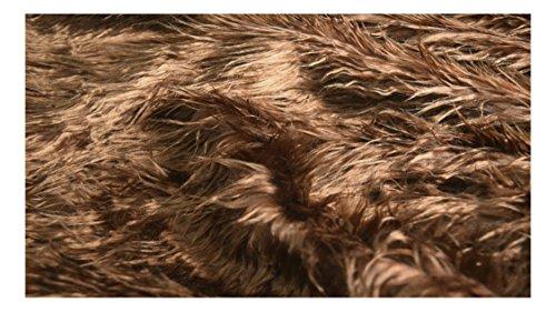 Shaggy Pelo Sintético de Mongolia de Fabrics-City Tela, 3958