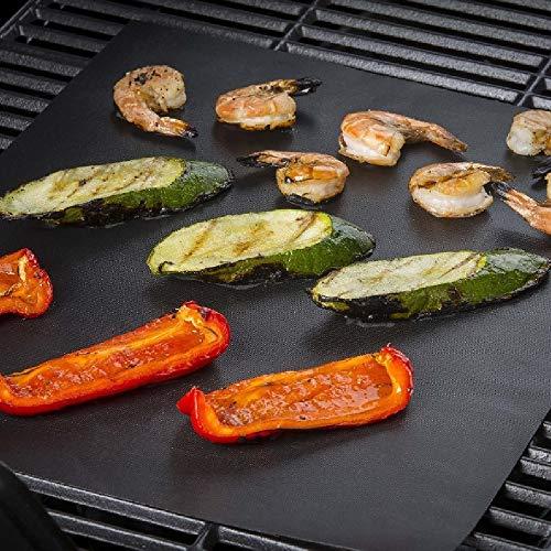 CN-Culture Tapis réutilisable Anti-adhésif pour Barbecue