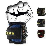 Grsta Magnetische Armbänder mit 15 leistungsstarken Magneten für Holding Werkzeuge, Schrauben, Nägel, Dübel, Bohrernn und kleinen Werkzeugen - Bestes Geschenk für DIY Heimwerker, Männer, Frauen(Everest Blau)