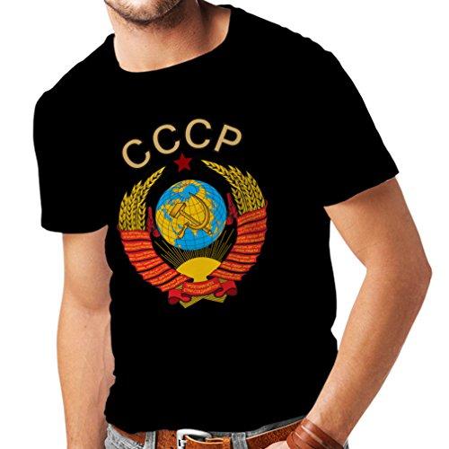af1bfd471f8 lepni.me T-Shirt pour Hommes СССР USSR Union Soviétique Drapeau Russe et  Hymne