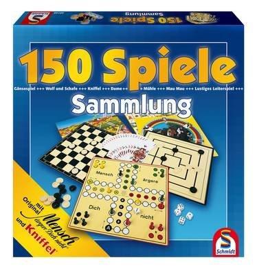 Spielesammlung mit 150 Spielmöglichkeiten by Schmidt Spiele