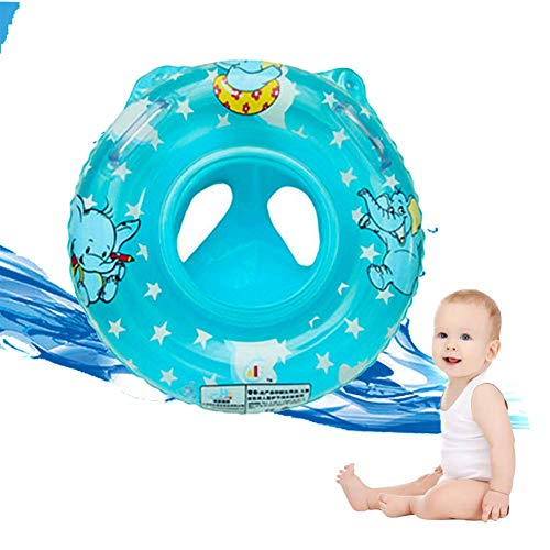 77ebba88be Wanbor Baby Swimming Ring Floats, Safe Crotch Support Infant Toddlers Swimming  Pool Floats, Bathtub