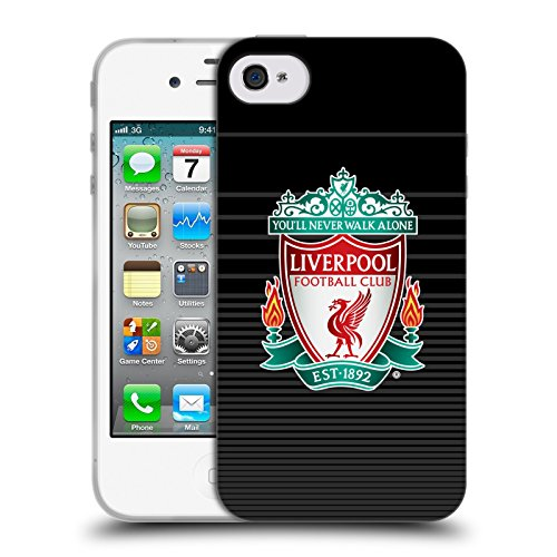 Ufficiale Liverpool Football Club Home Colori Design Crest Cover Morbida In Gel Per Apple iPhone 6 / 6s Colorato Third