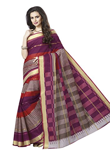 Vinay's Sarees Pure Cotton Saree For Women with Blouse Piece Print Work...