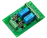 ELECTRONICS-SALON Two DPDT Signal Relay Module Board, DC12V Version, for PIC Arduino 8051 AVR.