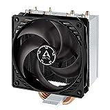 ARCTIC Freezer 34 - Tower CPU Luftkühler mit P-Serie Gehäuselüfter, Prozessorlüfter für Intel und AMD Sockel bis 150 Watt TDP Kühlleistung, Cooler mit 120 mm PWM Lüfter - Leise und Effizient