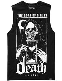 Killstar - Camiseta - Liso - Sin Mangas - para Hombre