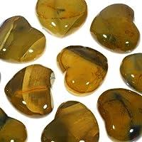 Mookait Kristall Herz gelb–4,5cm preisvergleich bei billige-tabletten.eu