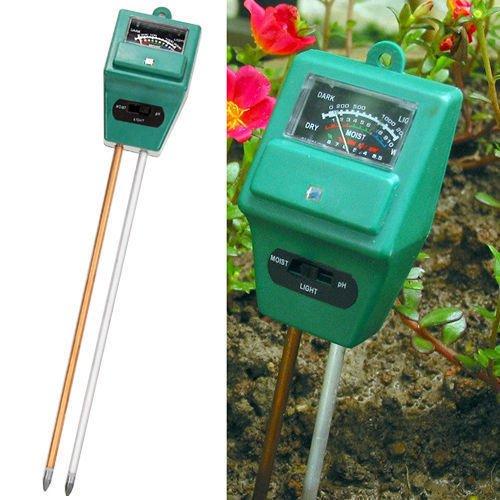 Testeur Combo PH/humidité/Lux pour terrain