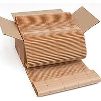 Caja de cushionPaper (cushionPaper Box) : el sustituto ecológico del plástico de burbujas para proteger tus objetos frágiles al enviarlos o almacenarlos. Similar en su estructura al cartón corrugado de una sola capa, cushionPaper es mucho más blando, flexible e increíblemente absorbente de choques. En la caja de 60 x 40 x 30 cm hay 10 metros x 60 cm de material, está parcialmente cortado cada 39 cm. Hecho de papel reciclado y 100% reciclable.