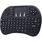 GZD Flying ratas Touch 2.4Ghz teclado inalámbrico Bluetooth Mini teclado , black lithium battery with 3 fingers