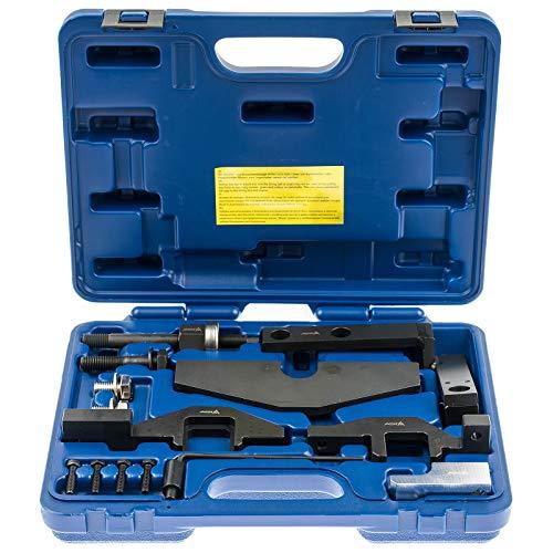 A-BMWN14 Motor Einstell Werkzeug Satz BMW Mini Cooper S JC JCW 13-tlg. W10 W11 N14 R50 R52 R53 R55 R56 R57 Nockenwelle Kurbelwelle Arretierung Arretierwerkzeuge Zahnriemenwechsel Steuerzeiten