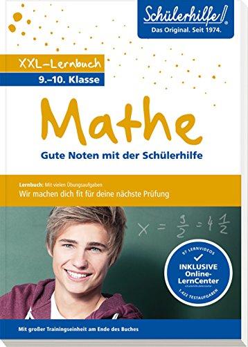 Preisvergleich Produktbild XXL-Lernbuch Mathe 9. / 10. Klasse: Gute Noten mit der Schülerhilfe