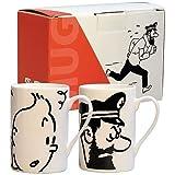 Pack 2 Mug cerámica. Tintín/Haddock