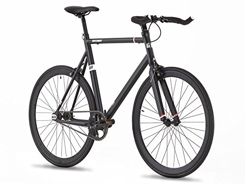 62cm Hi Spec Aviazione Alluminio Fixed Gear Bike–Single Speed–Flip Flop Wheel- Leggero–9kg