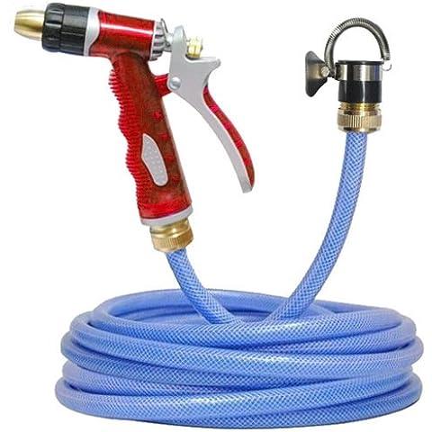 Lavado de pulverización pesada-Pistola de presión Boquilla Kit 5-100M del tubo de agua del jardín arandela del coche Clearner